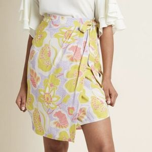 Modcloth Whole Lotta Loveliness wrap skirt nwot